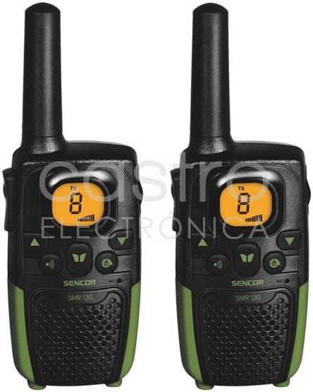 Intercomunicadores 8 Canais 7Km - SENCOR