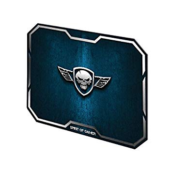 Tapete Gaming Wing Skull Azul - SPIRIT OF GAMER