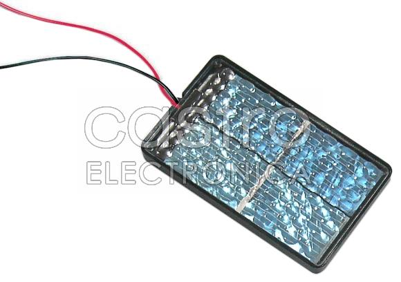 Painel Fotovoltaico 800mA / 0,5V
