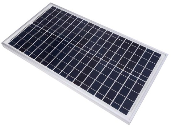Painel Fotovoltaico Silicio Policristalino 30W / 12V - VELLEMAN
