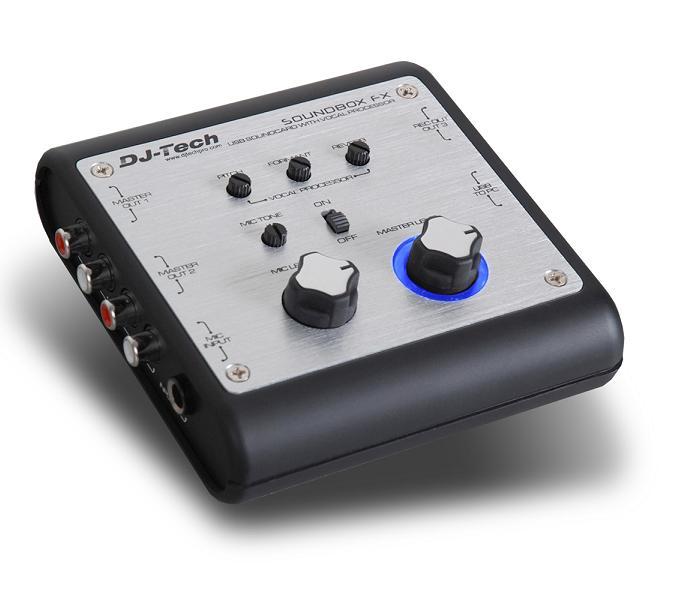 Controlador Processador Efeitos de Som 24 Bit USB - DJ-Tech