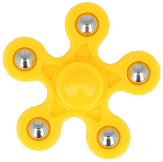 Fidget Spinner FLOWER - Amarelo