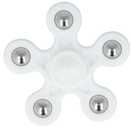 Fidget Spinner FLOWER - Branco