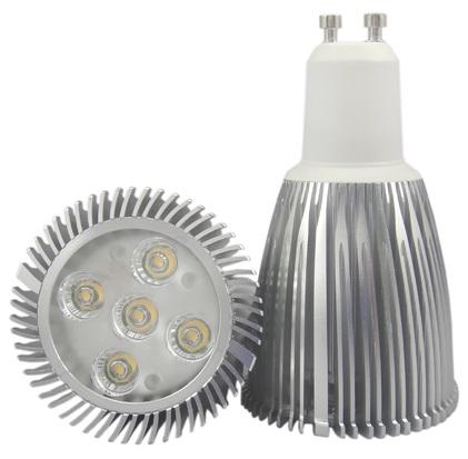 Lampada LED 220V GU10 5W Branco Quente 3000K 60º 420Lm
