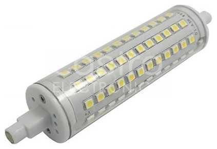 Lampada LED R7S 135mm 300º 12W Branco 4000K
