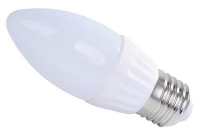 Lampada LED Opalina 220V E27 4W Branco F. 6000K 360º 340Lm