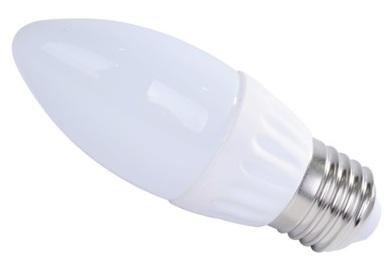 Lampada LED Opalina 220V E27 4W Branco Q. 3000K 360º 275Lm