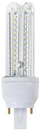 Lampada PLC G24 LED 220V 9W 6000K 360º 810Lm