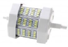 Lampada 32 LEDs SMD R7s 78mm 220V 6W Branco F. 6000K 760Lm