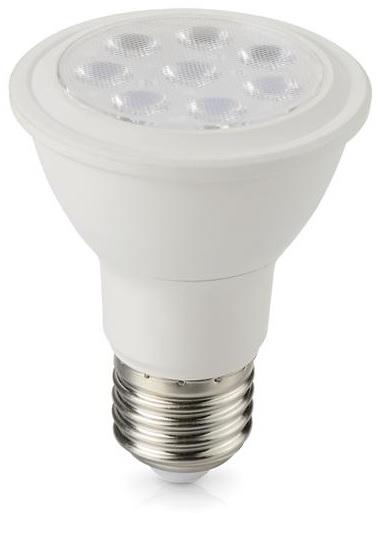 Lampada LED 220V E27 PAR20 8W Branco Q. 3000K 720Lm - Dimável