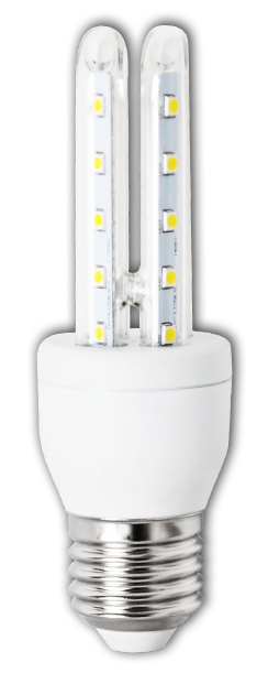 Lampada LED 220V E27 6W Branco F. 6000K 360º 480Lm - ProFTC