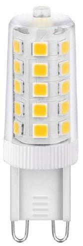Lampada LED 220V G9 3W Branco F. 6000K 360º 300Lm - Dimável