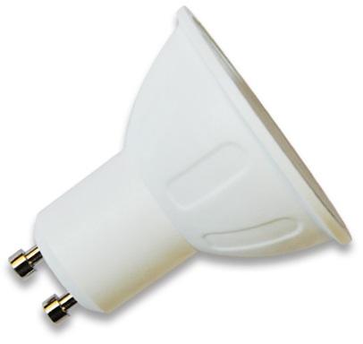 Lampada LED 220V GU10 4W Branco F. 6000K 260Lm