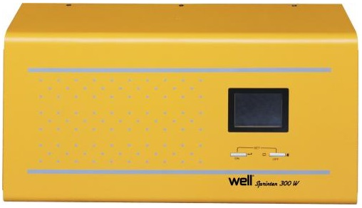 Estabilizador Tensão ONDA PURA 220V/300W c/ Função UPS - WELL