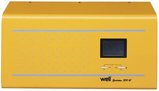 Estabilizador Tensão ONDA PURA 220V/600W c/ Função UPS - WELL