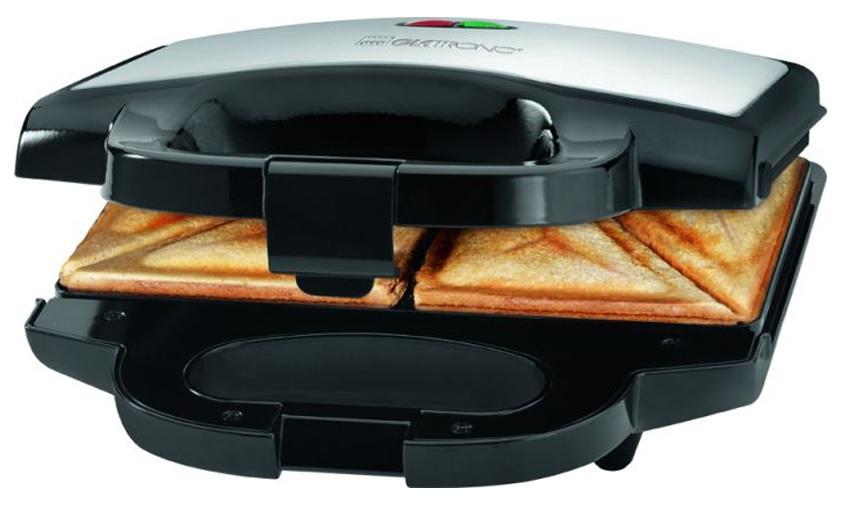 Sandwicheira Dupla 750W (Inox) - CLATRONIC