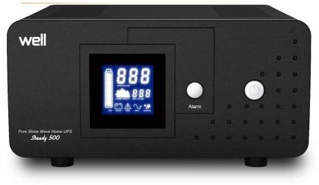 Estabilizador de Tensão 500VA / 300W c/ Função UPS - WELL