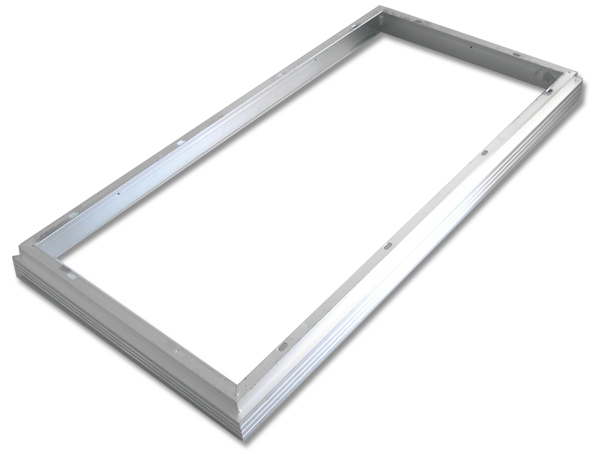 Aro Superficie p/ Fixação Painel LED 60x30cm (Branco)