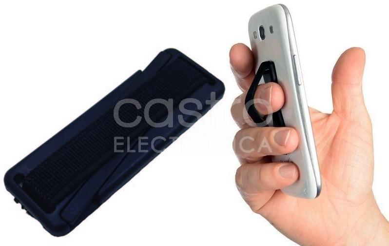 Suporte de Dedos para Tablets/Telemóveis (Preto) - ProFTC