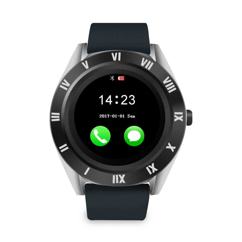 Smartwatch M11 Bluetooth (Prateado)