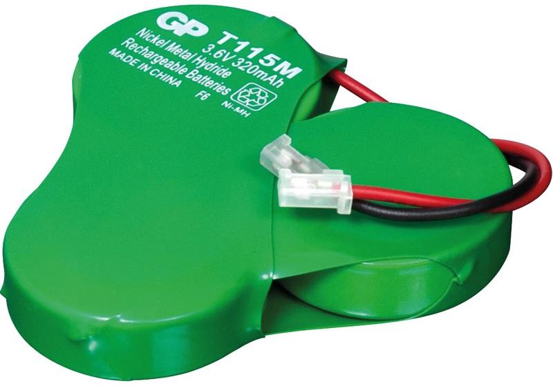 Pack Bateria Ni-Mh 3,6V 320mAh (GB320x3) - GP