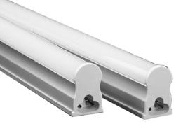 Armadura LED T5 4W 220V 6000K 320Lm Opalina (30cm)