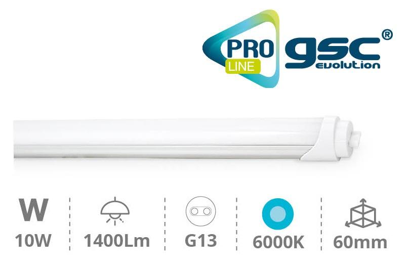 Tubo de LEDs T8 Opalino 220V 10W 6000K 1400Lm (60cm) - PRO LINE