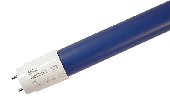 Tubo de LEDs T8 60cm 10W 700Lm 240º (Azul) - ProFTC
