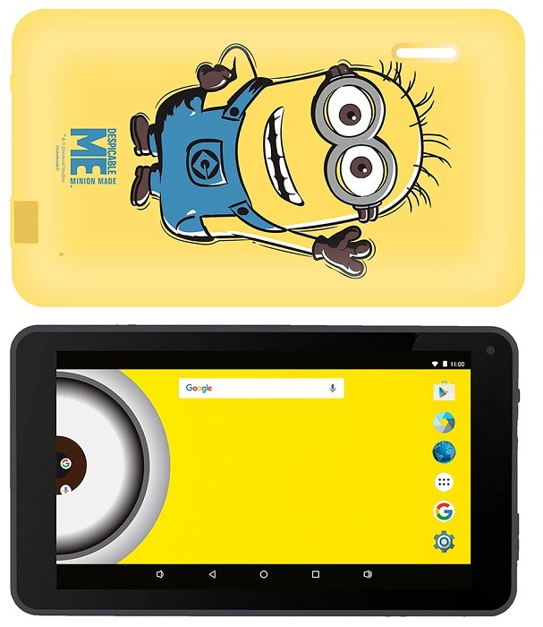 Tablet 10,1 Themed Minions 8GB (Inclui Capa) - eSTAR
