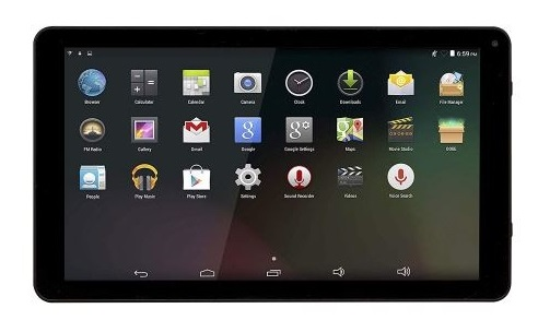 Tablet 9 QUAD-CORE 1/16GB ANDROID8.1GO (Preto) - DENVER