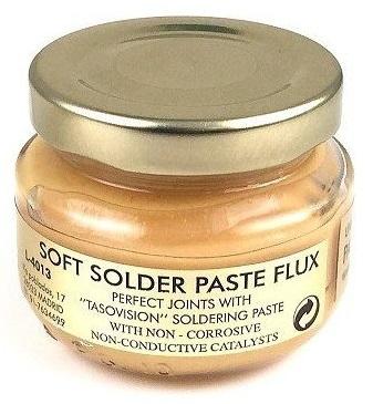 Pasta de Soldar (Flux) Castanha p/ Desoxidação e Limpeza (50cc) - TASOVISION