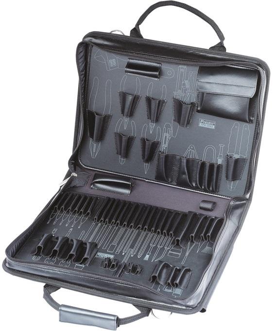 Mala p/ Ferramentas em Alumínio c/ Reforços Especiais (435x325x90mm) - Proskit