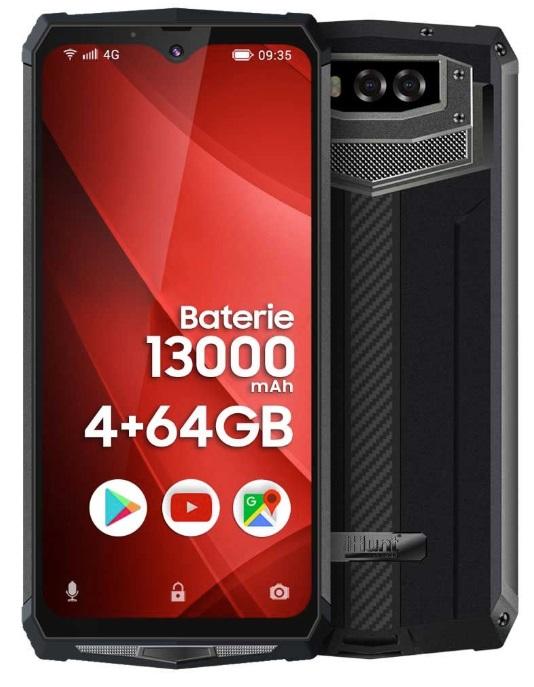 Smartphone 6.3 4/64GB Dual SIM Android 9 (Preto) - iHunt TITAN P13000 PRO