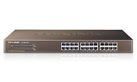 Switch 24 Portas 10/100 Rack 19 - TP-LINK