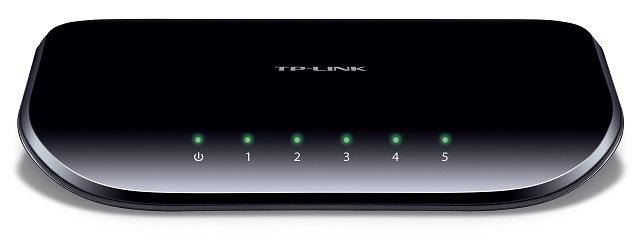 Switch 5P GIGABIT 10/100/1000Mbps - TP-LINK
