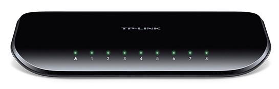 Switch 8P GIGABIT 10/100/1000Mbps - TP-LINK