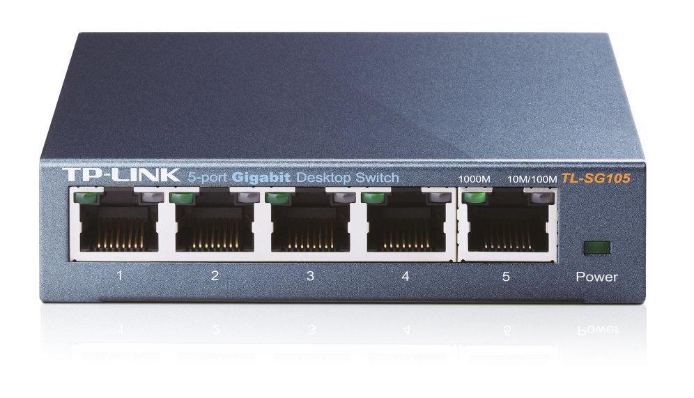 Switch 5 Portas Gigabit - TP-LINK