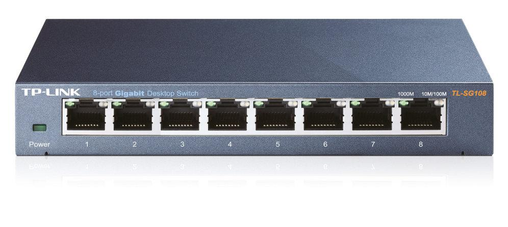 Switch GIGABIT 8 Portas - TP-LINK