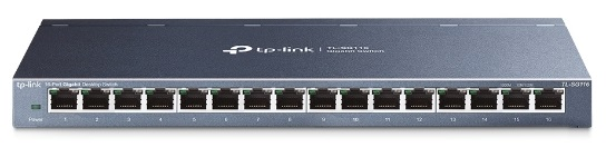 Switch TL-SG116 Gigabit (16 Portas) - TP-LINK