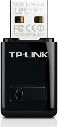 Pen USB Wireless NANO N 300Mbps - TP-LINK