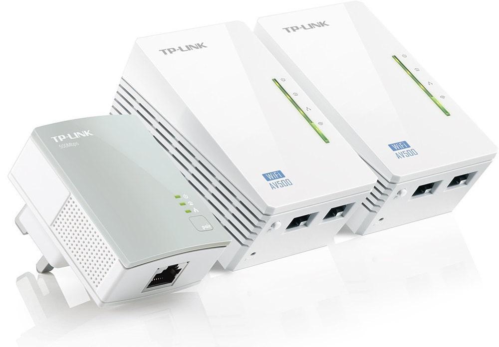 Power Lines AV600 500Mbps WiFi Kit - TP-LINK