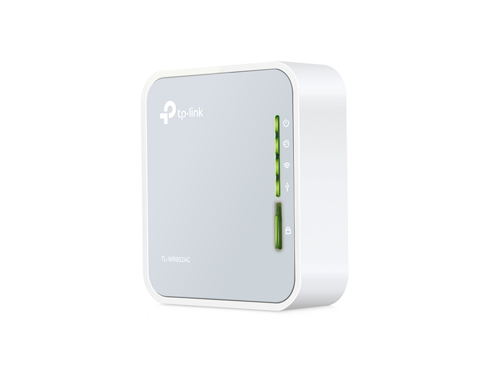 Router Dual Band Wireless Mini 300Mbps AC750 (Branco) - TP-LINK