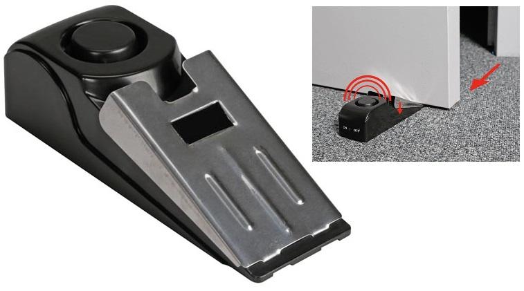 Alarme de Porta 120dB c/ Sensor e Vibração - PEREL