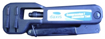Alicate Cravar Fichas Compressão RG59, RG6, RG7, RG11 - DAXIS