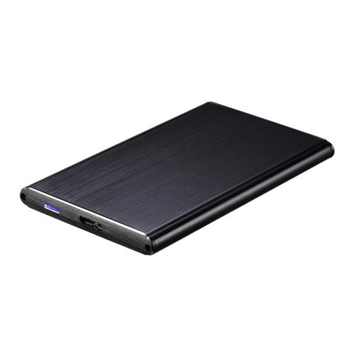 Caixa Externa Aluminio p/ Disco Rigido HDD/SSD 2.5 SATA I/II/III a USB3.0 (Preto) - TooQ