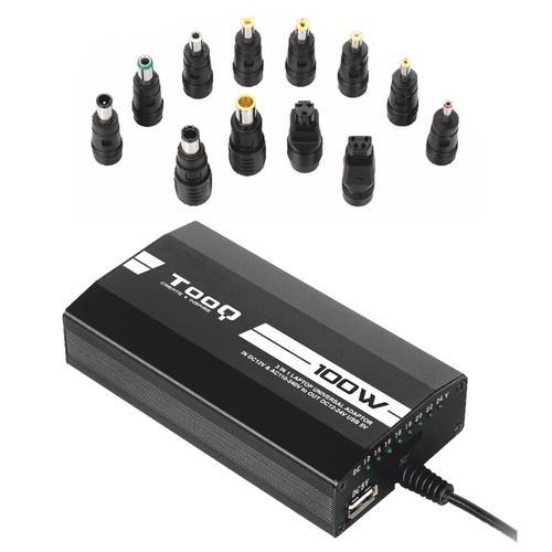 Alimentador Universal 12 ~ 24V 100W (12 Conectores) - TooQ