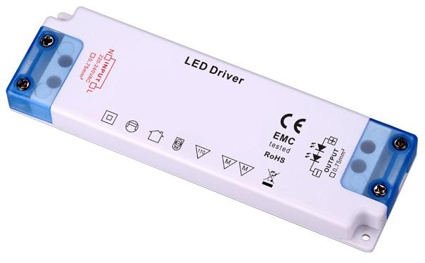 Transformador Electrónico p/ LEDs 12V 1~60W
