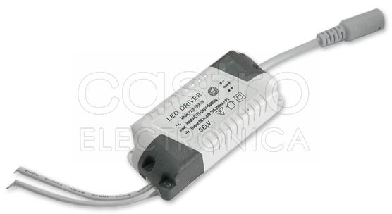 Transformador p/ Paineis de LED AC175-265V / DC24-72V 6...18W - ProFTC