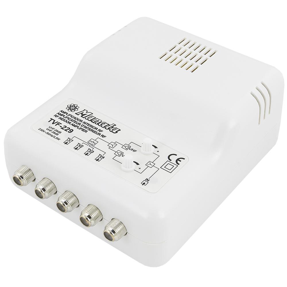 Amplificador de Interior 1 Entrada e 4 Saídas (4G) - MANATA