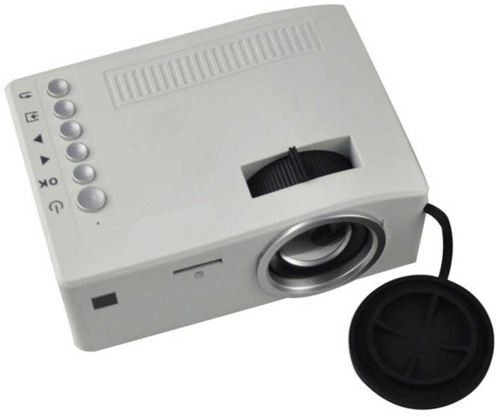 Video Projector Mini LED (SD, AV, HDMI) - ProFTC